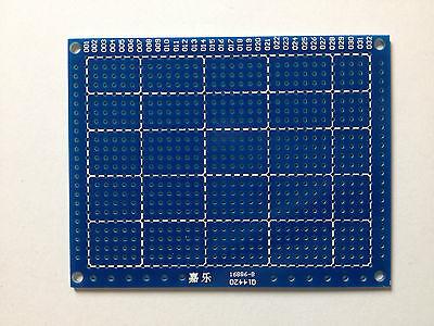 5x Punktstreifenrasterplatine 90x70 mm | RM 2,54 | Einseitig | Glasfaser | 5 St.