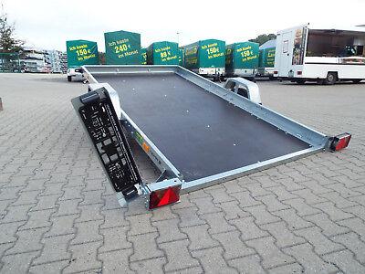 1300kg kippbarer Multitransporter 295x160cm, PKW Anhänger, Neu n. gebraucht 3