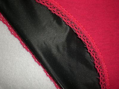 Neu Ultra Soft Pvc & Cotton Doppel Slip Panties Brief  M 3