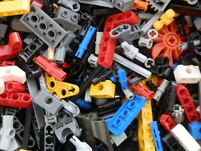 Lego 200x Technik Sonderteile Kleinteile Lochbalken Pins Liftarme