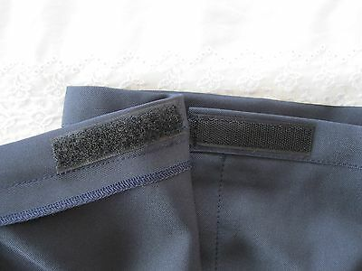 "Girls/Ladies NAVY BLUE Polyester School Gym Kilt/Skirt W27-30"" 13-18 yrs- NEW! 7"