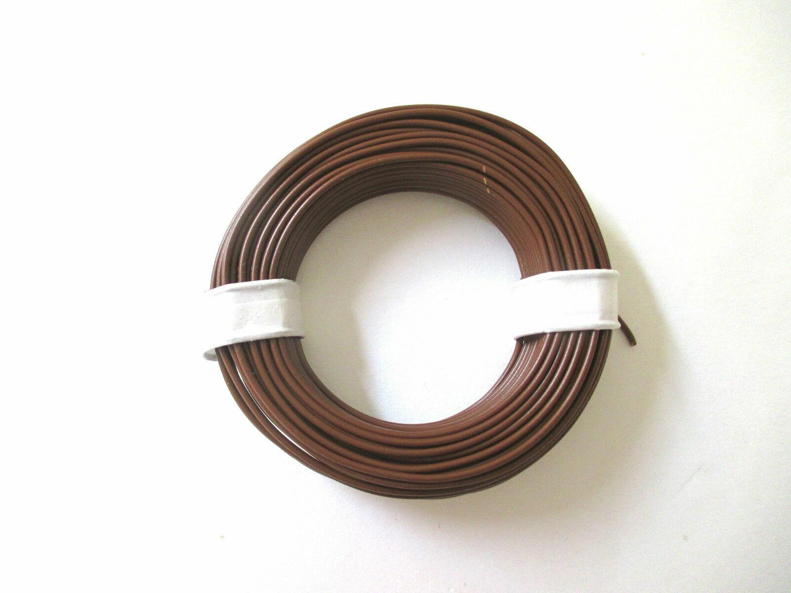 Litze  flexibel 18x0,10   10 Ringe a 10m   *NEU* 1m = EUR 0,1195