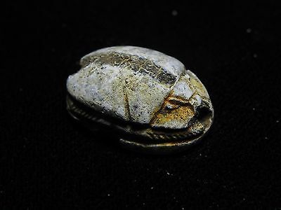 Zurqieh -Cy45- Ancient Egypt , Stone Scarab (1782 B.c- 1570 B.c.) . Nice 4