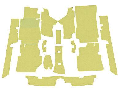 Cream beig  loop carpet kit for Mercedes W123 Coupe 77-85 230C-230CE-280CE-300CD