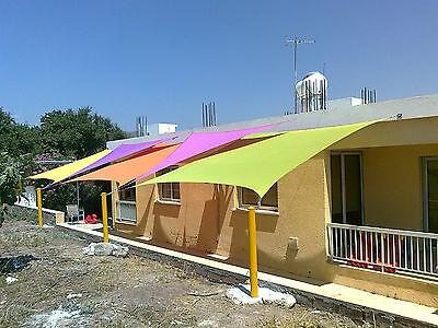 7 of 12 Kookaburra Sail Shade Sun Canopy Patio Awning Garden 98% UV u0026 Waterproof Outdoor & KOOKABURRA SAIL Shade Sun Canopy Patio Awning Garden 98% UV ...