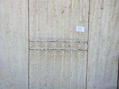Antique Victorian Iron Gate Window Garden Fence Architectural Salvage #838 5