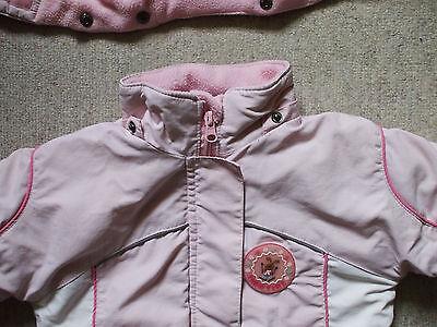 schöne warme gefütterte Jacke mit abnehmbarer Kapuze Größe 98 von Topolino 6