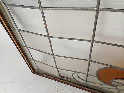 Large Vintage Stained Glass Window (1512)NJ 9