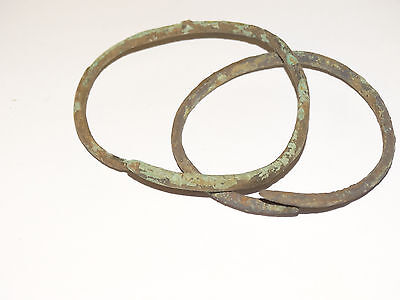 Perfect  Bronze Migration Period Bracelets.  The Nomads.Hunnu.  ca 3-6 AD. 3