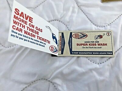 10 Delta Sonic Super Kiss Car Wash Tickets-never expire-New Sale Price 2