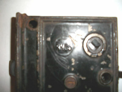 Antique RHC Rim Lock Fully Functional     1800's
