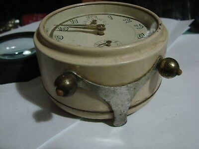 Junghans Vintage Alarm Clock Art Deco 4