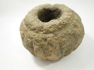 Pre-Columbian Chavin Stone Mace Head Peru 1500-400BC SAA-3 3