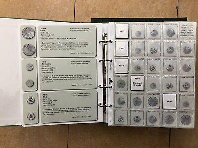 Masterphil Repubblica Italiana ALBUM MONETE DAL 1946 al 2001 art. 158 LIRA ECO 6