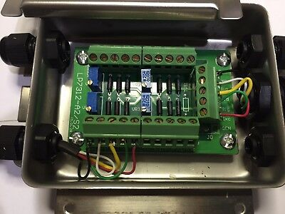 LOAD CELL SCALE FLOOR WEIGHBRIDGE HOPPER TANK JUNCTION SUMMING BOX 4 WAY LWM FOU