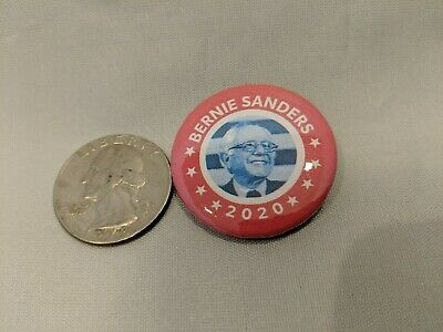 "Four 1.25"" Bernie 2020 Pins, You choose designs 2"