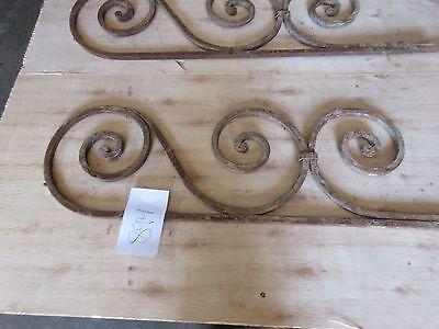 Antique Victorian Iron Gate Window Garden Fence Architectural Salvage #894 4