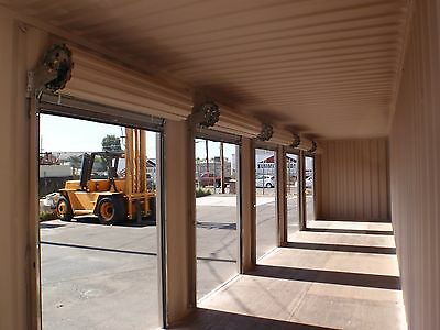 5 of 6 Portable Shipping Container Conex Storage building with two roll up doors & PORTABLE SHIPPING CONTAINER Conex Storage building with two roll up ...