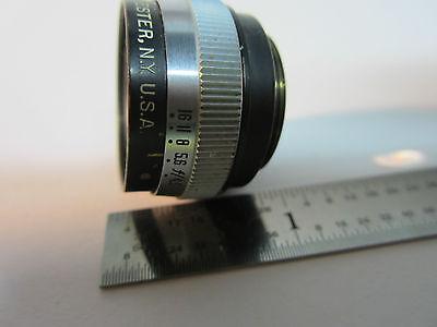 Microscope Pièce Objective Bausch Lomb Miro Tessar 32 mm Optiques Bin #24-57-2 4