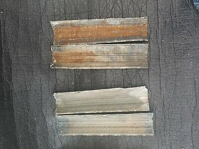 Antique vintage reclaimed embossed tin border 26 in x 6.5 in 6.48$ per piece