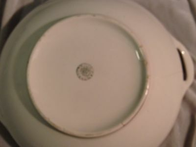 Vintage Canons Burg China Covered Veggie Bowl H 1922 2