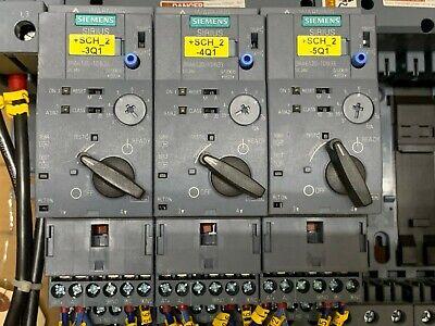 Siemens Mix Lot Of 6 (3X) 3Ra6120-1Db33| 3Ra6812-8Ab | 3Ra6822-0Ab | 3Ra6830-5Ac 8