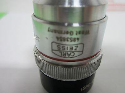 Microscope Objective Zeiss Allemagne Ld-Epiplan 4x Long la Optiques Bin #P4-98 4