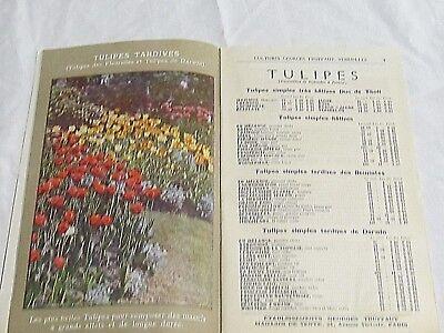Catalogue Georges Truffaut Automne 1927 + 4 feuillets  bulbes rosiers engrais 4