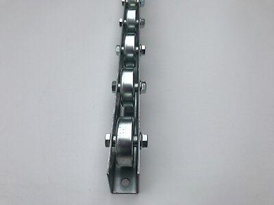 Rollenleiste Röllchenleiste Rollenschiene mit Stahlröllchen Ø 48 mm
