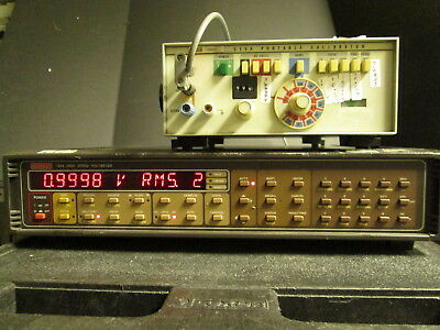 Keithley 194A Dual Channel Voltmeter RMS AVG Math 32K buffer High speed 4