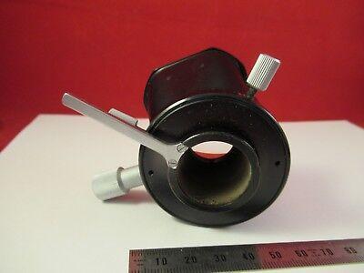 Leitz Wetzlar Allemagne Condenseur + Iris Microscope Pièce comme sur Photo # 5