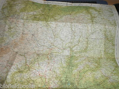 Bartholomew's Survey Map for Tourists & Cyclists - Bedford/Hertford - c1915 (25) 2