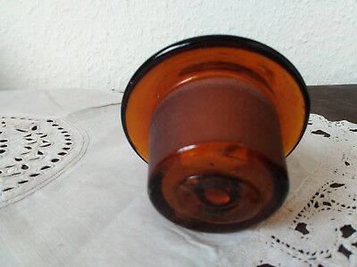 Apothekerflasche;Verschluß;geschl. Glasstöpsel;7,0 cm, 6