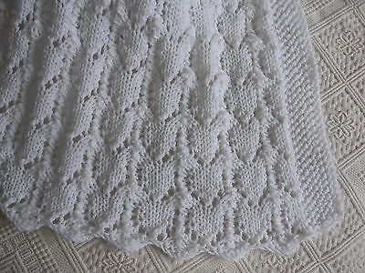 Baby Blanket Knitting Patternyarn Set Easy Quick Knit Afghan Dk