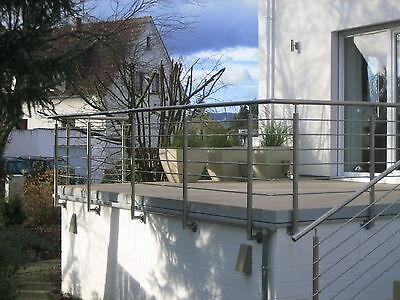 Geländer Griff Treppe Balkon Handlauf Fenstergitter Balkongeländer Edelstahl