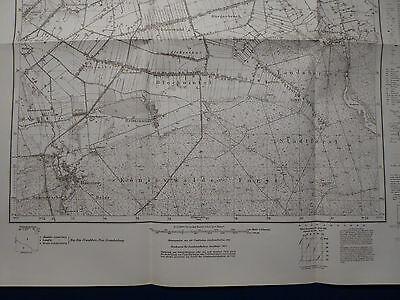 Landkarte Meßtischblatt 3357 Dechsel / Deszczno, Altensorge, Hammer, 1945