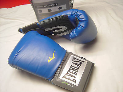 e220cc1f1 ... Everlast Pro Style Training 16oz Boxing Gloves and Hand Wrap Used 8