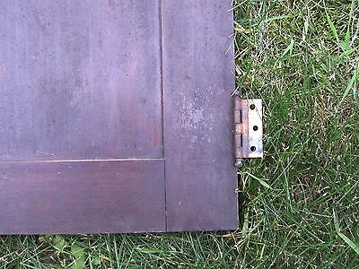 """Antique Vintage Pair Cabinet Doors from Old School Chemistry Lab 30"""" Tall 12"""