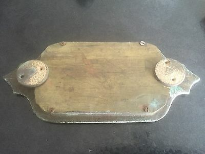 victorian deed box military style brass handle 2
