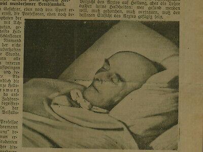 Samuel Hahnemann Homöopathie 28.07.1935 Welt am Sonntag Cafe Luitpold München 4