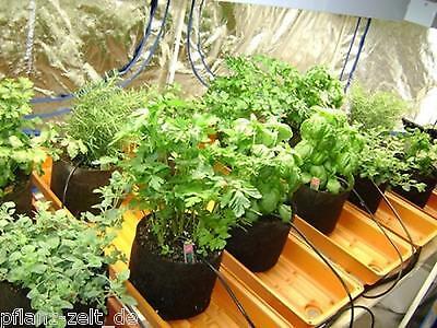 4L Gronest Pouch Pflanztopf Blumentopf Grow Stofftopf Anzucht Indoor