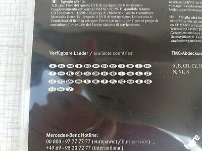 MERCEDES BENZ NAVIGATIONS UPDATE, COMAND APS, Europa
