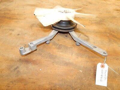 KAWASAKI FD620D ENGINE Water Pump Pulley/Bracket/Fan (John Deere 445)-USED