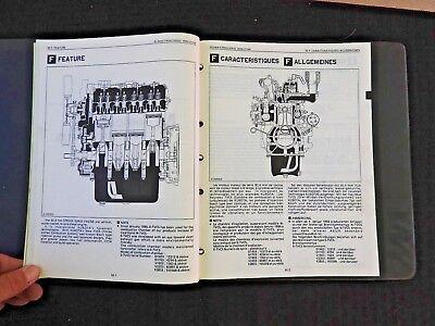 Genuine Kubota 92.4Mm Stroke Diesel Engine Service Repair Manual Very Good Shape 3