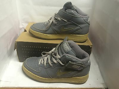 8facdcfb66 ... Nike Air Force 1 Mid Sc Gel Jewel Swoosh Used Size 9 Supreme 2