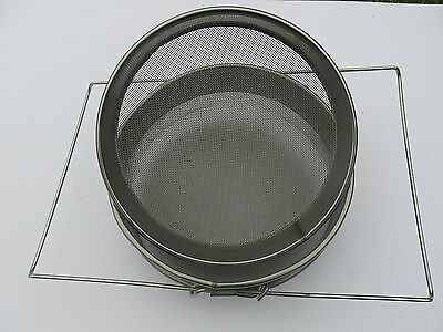 Double Honey Strainer/ Filter - Stainless Steel - Beekeeping Equipment - Sieve 3