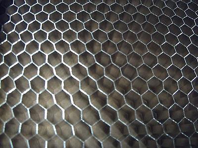 "Aluminum Honeycomb Grid Core Mesh, 1/4"" Cell, 10""x10""x .500"""