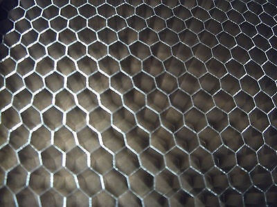 "Aluminum Honeycomb Grid Core Mesh, 1/4"" Cell, 15"" x 24"" x .500"" 2"