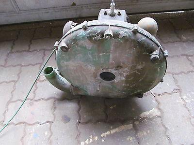 gebrauchter oldtimer Original Holder Spritze Rückenspritze Benzin Motor Bj 1960 4