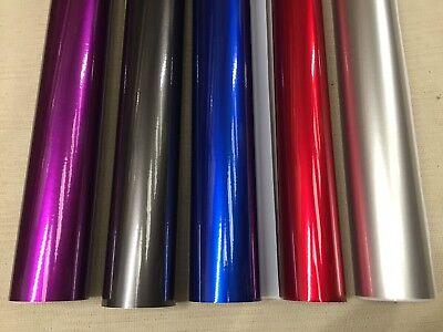 "Auroral Metallic  Gloss Vinyl Car Wrap ""Air Free Bubble"" Wrapping Film Sticker 10"